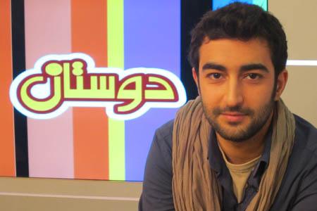 کیوان ساکت اف در برنامه دوستان