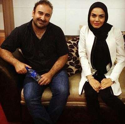 آزاده زارعی و مهران رجبی در سریال آوای باران