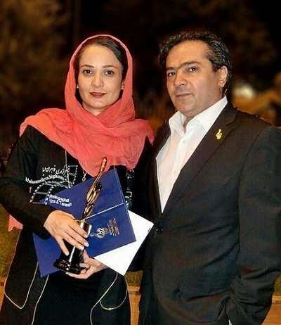 بیوگرافی نسرین نصرتی و همسرش سام پاک پیکر