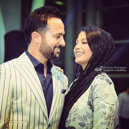 عکس احمد مهرانفر و همسرش مونا فائض پور