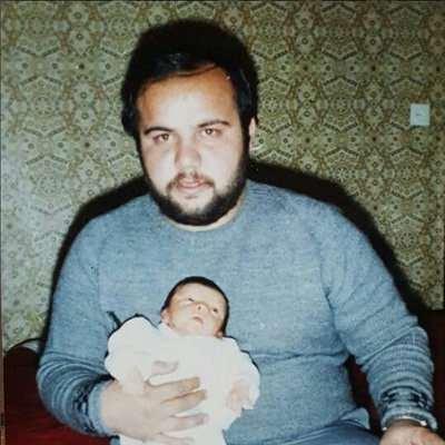 عکس جوانی ناصر هاشمی و پسرش سعید
