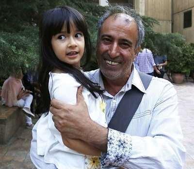 عکس سیامک صفری و دخترش