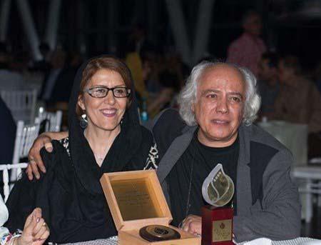 عکس سیروس الوند و همسرش زهرا جناب