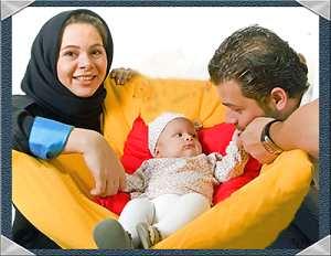 عکس قدیمی از مستانه مهاجر و همسرش پژمان بازغی