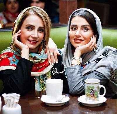 عکس لاله مرزبان و شبنم قلی خانی