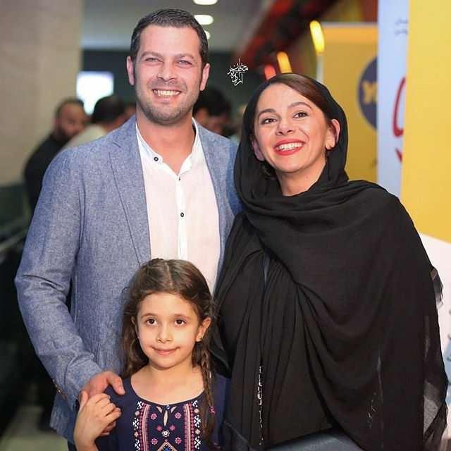 عکس مستانه مهاجر و همسرش پژمان بازغی