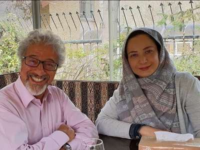 عکس نسرین نصرتی و علیرضا خمسه