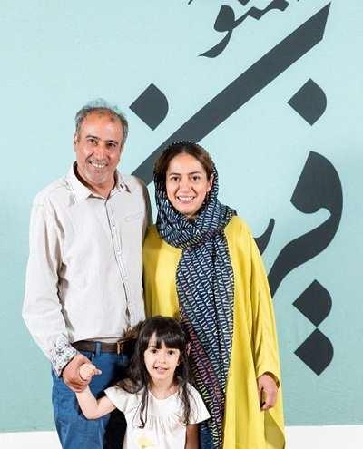 عکس همسر سیامک صفری و دخترش ایرما