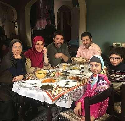 عکس هومن حاجی عبداللهی در سریال دختر گمشده