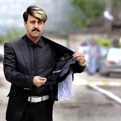 عکس هومن حاجی عبداللهی در سریال پایتخت ۵