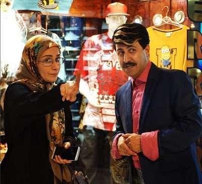 عکس هومن حاجی عبداللهی و نسرین نصرتی در پایتخت ۵