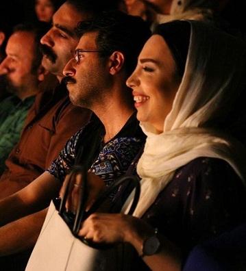 عکس هومن حاجی عبداللهی و همسرش سلیمه قطبی