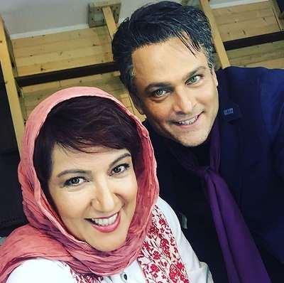 عکس پانته آ بهرام در کنار حسین یاری در عاشقانه