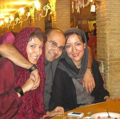 عکس پانته آ بهرام و خواهر و برادرش