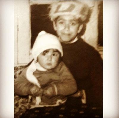 عکس کودکی سارا اسکندری