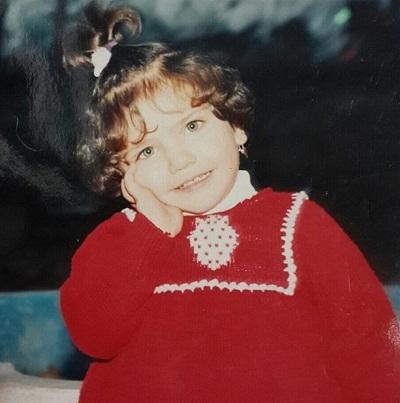 عکس کودکی مهشید مرندی