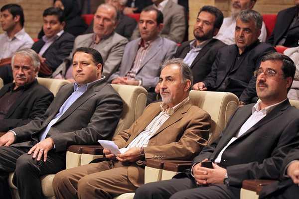 محمدعلی نجفی و سمیع الله حسینی مکارم