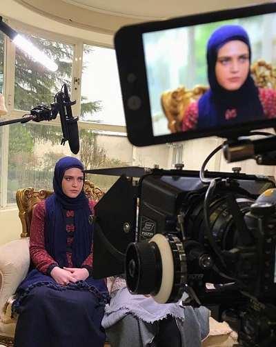 مهشید مرندی بازیگر نقش سودابه در کوبار