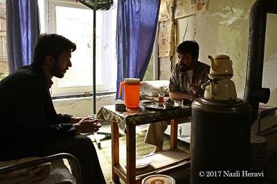 عکس های شهرام خزرایی بازیگر نقش کبیر در سریال آنام