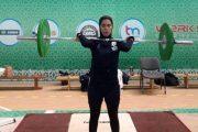 بیوگرافی پارمیدا محمودیان اولین وزنه بردار زن ایرانی