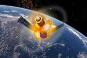 سقوط فضاپیمای چین تیان گونگ ۱ + فیلم