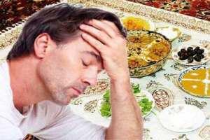 علت سردرد بعد از افطار چیست؟
