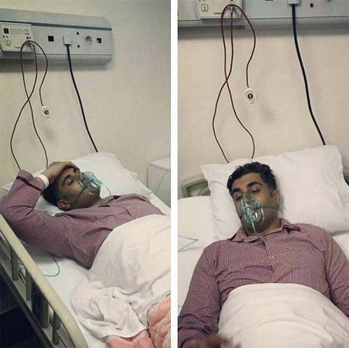 دلیل سکته شهاب مظفری و وضعیت او بعد از سکته