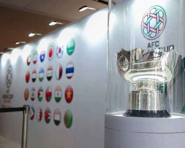 رونمایی از جام قهرمانی جام ملت های آسیا ۲۰۱۹