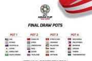 قرعه کشی جام ملت های آسیا ۲۰۱۹ + تصاویر و پخش زنده
