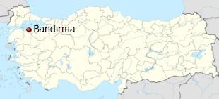 شهر باندیرما ترکیه