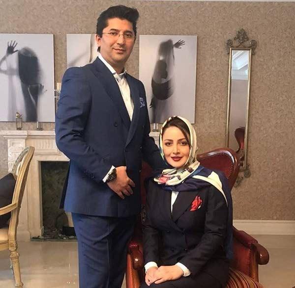 عکس شیلا خداداد و همسرش فرزین سرکارات