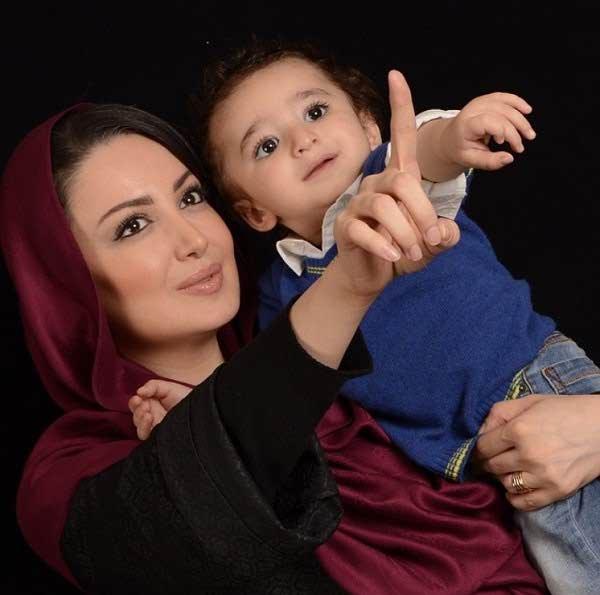 عکس شیلا خداداد و پسرش سامیار