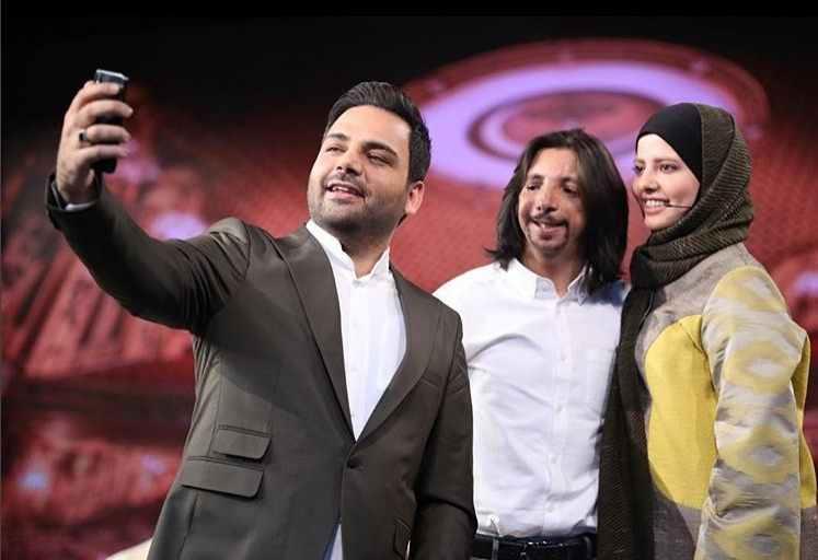 عکس فرهاد ایرانی و همسرش مهسا در ماه عسل