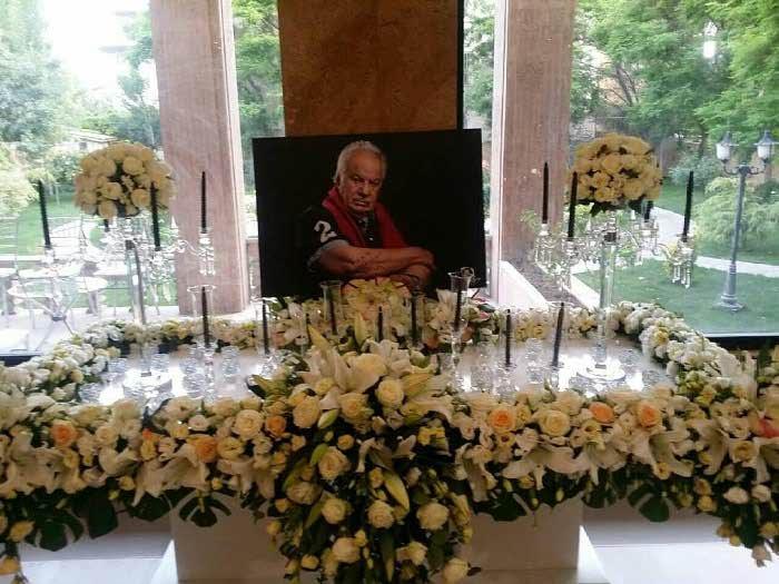 عکس مراسم ناصر ملک مطیعی