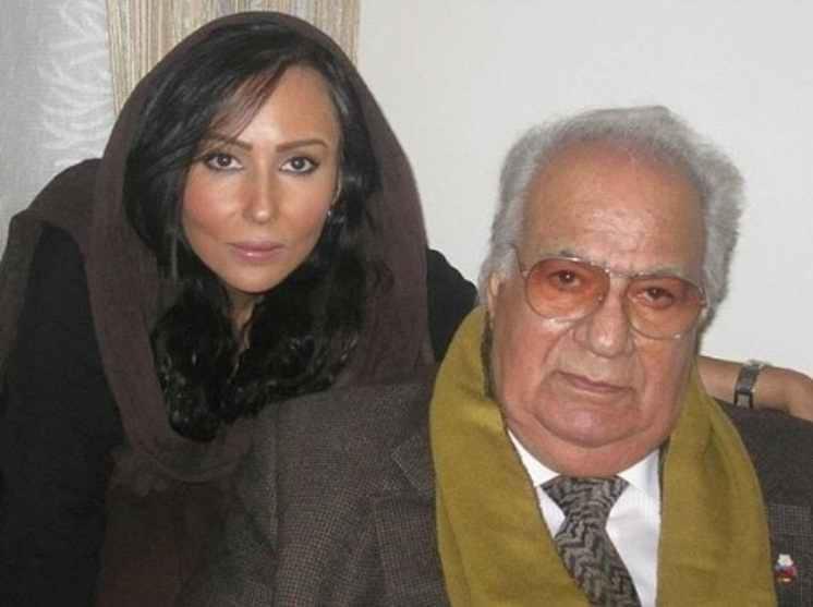 عکس ناصر ملک مطیعی و پرستو صالحی