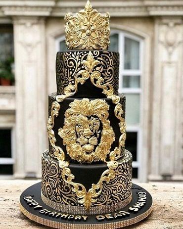 عکس کیک تولد شهاب مظفری