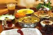 غذا برای افطار ماه رمضان