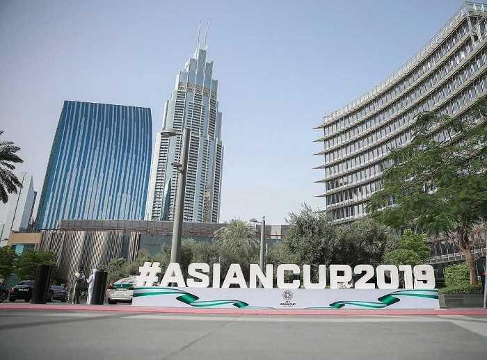 قرعه کشی جام ملت های آسیا در برج الخلیفه