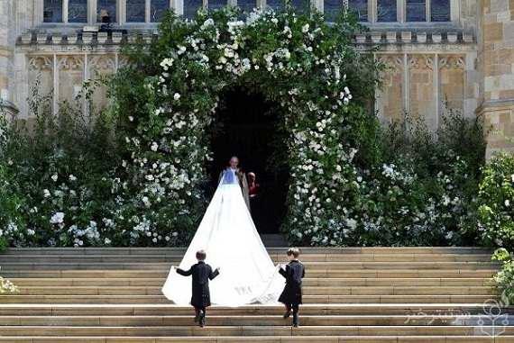 عکس مراسم ازدواج مگان مارکل و پرنس هری