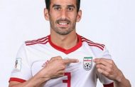 احسان حاج صفی شماره ۳ تیم ملی فوتبال ایران