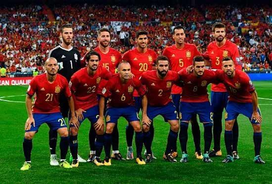 لیست بازیکنان اسپانیا در جام جهانی ۲۰۱۸ + ترکیب