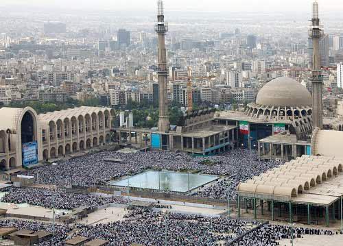 Image result for عکسهای نماز عید فطر 97