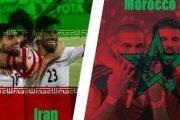 ساعت بازی ایران و مراکش در جام جهانی