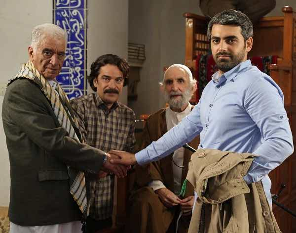عکس محمدرضا رهبری در سریال راه و بیراه