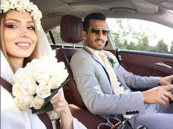 عکس های احسان حاج صفی و همسرش آذین