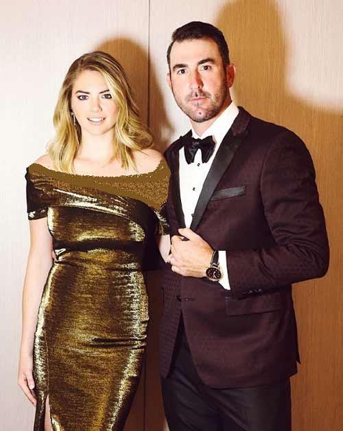 عکس کیت آپتون و همسرش