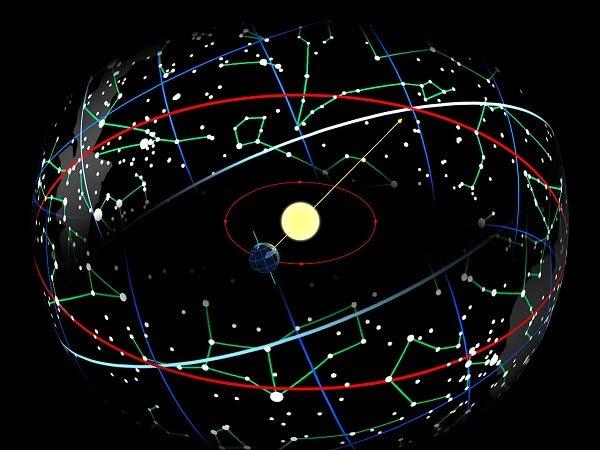 مدار دایره ای شکل ترسیم شده برای برج ها