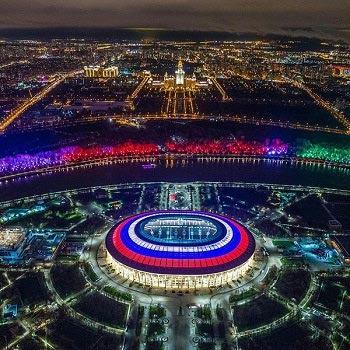 ساعت شروع افتتاحیه جام جهانی ۲۰۱۸
