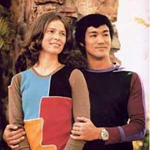عکس بروسلی و همسرش