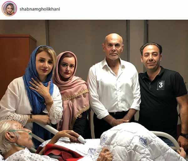 تصاویر منتشر شده از استاد مشایخی در بیمارستان